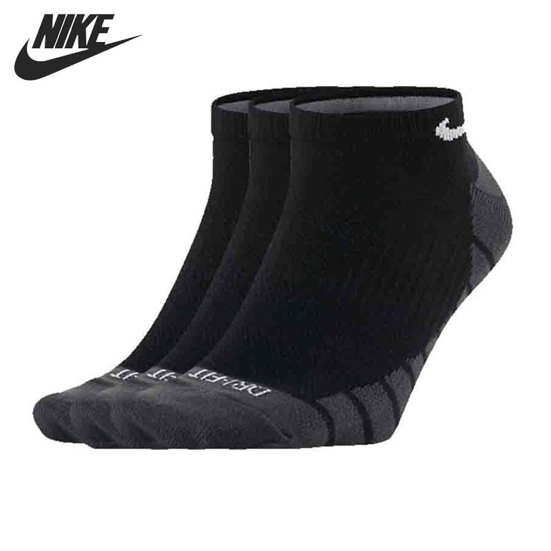 Original New Arrival 2017 NIKE DRY LIGHTWEIGHT Unisex  Sports Socks  (3 pairs )