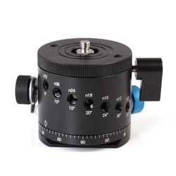 DH-55D Panoramic Panorama BallHead Clamp Indexing Rotator For Camera Tripod Head