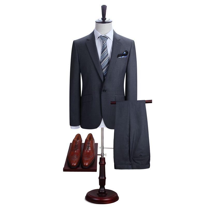 DARO männer Slim Fit One Button Anzüge Jacke und Hose Links und Rechts Vent Männer Marke Blazer (DR8158-A7 #)