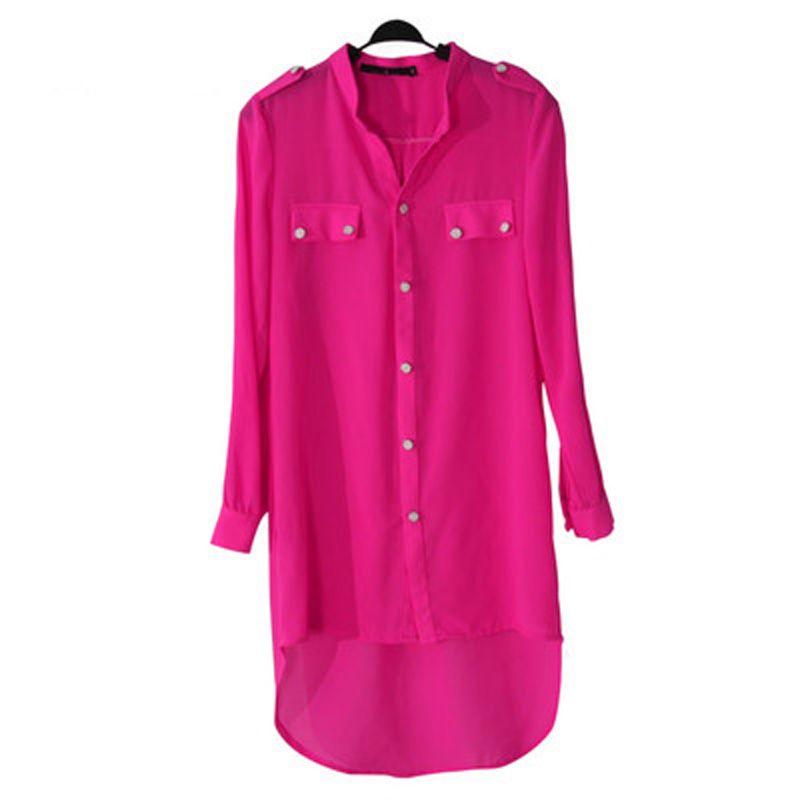 Femmes Bluz femininas chemises Camisas Kimono cardigans grande taille 3XL tunique queue de poisson en mousseline de soie musulmane longue chemise dame Blouses Patten