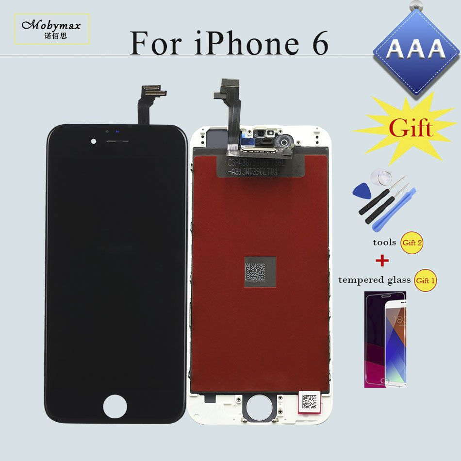 LCD Screen for iPhone 4S 5 5S 6 6 Plus Replacement Ecran Pantalla Repair LCD Display Touch Screen Digitizer&LCD Assembly Verre