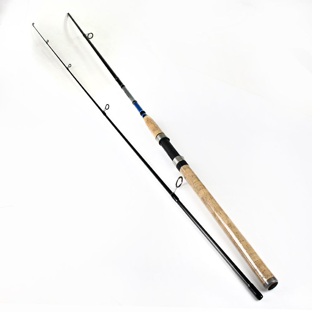 FISH KING 99% <font><b>Carbon</b></font> 2.1M 2.4M 2.7M 2 Section Soft Lure Fishing Rod Lure Weight 3-40g Spinning Fishing Rod For Lure Fishing