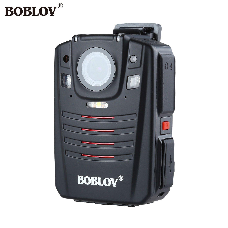 BOBLOV HD66-07 1296 P 64 GB Audio Video Recorder 2,0 LCD Nacht Vision Video Körper Kamera Ambarella A7 Polizei Cam GPS Fern Control