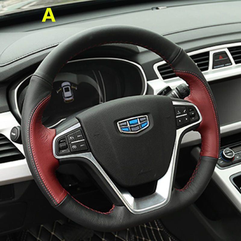 Geely new Emgrand 7 EC7 EC715 EC718 Emgrand7 E7,RS,GT,GC9 Borui,Emgrand-EV,EV,Car steering wheel cover