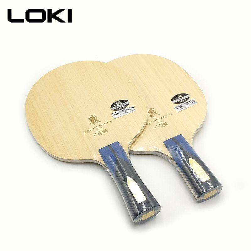 LOKI God2 Top Qualität Arylate Carbon Tischtennis Klinge Professionelle Ping Pong Klinge Offensive Schleife Tischtennis Schläger OFF + +