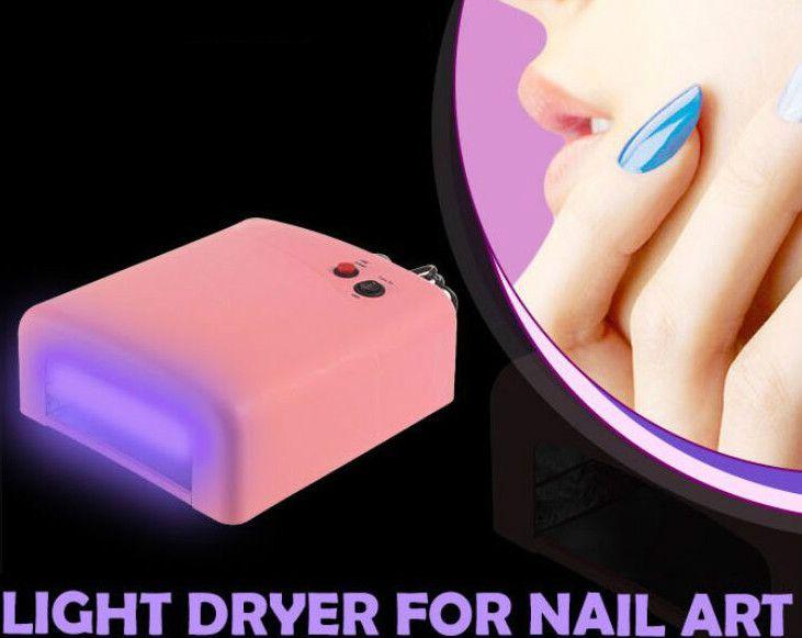 36W EU Plug Ultraviolet 220V UV Lamp LED Lamp for Nail Dryer Nail Lamp Curing for UV Gel Nails Polish Nail Art Tools