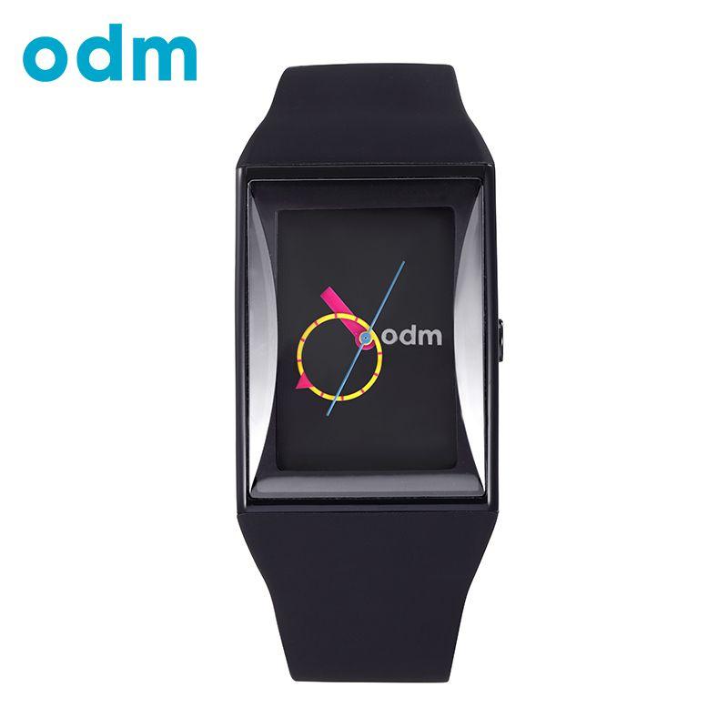 ODM Luxus Männer Frauen Unisex Schwarz Uhr Wasserdicht Mode Stunden Beiläufige Militär Quarz Heißer Marke Silikon Sport Uhren DD132