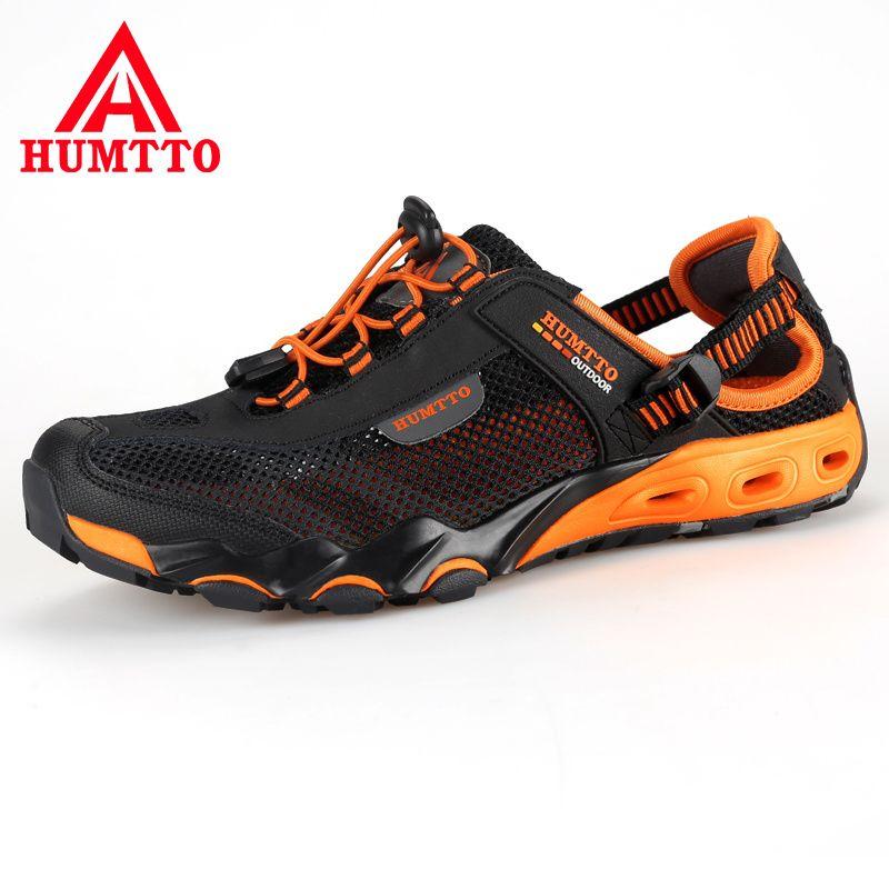 Nouveauté chaussures de randonnée en plein air sapatilhas mulher trekking hommes randonnee scarpe uomo femmes wading en amont maille respirante
