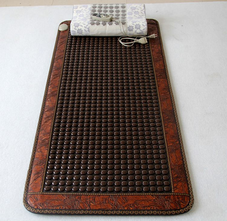 Natural Tourmaline Mat Jade Health Care Pad Electric Heating Mattress Germanium Stone Mattress For Sale 0.7X1.6M