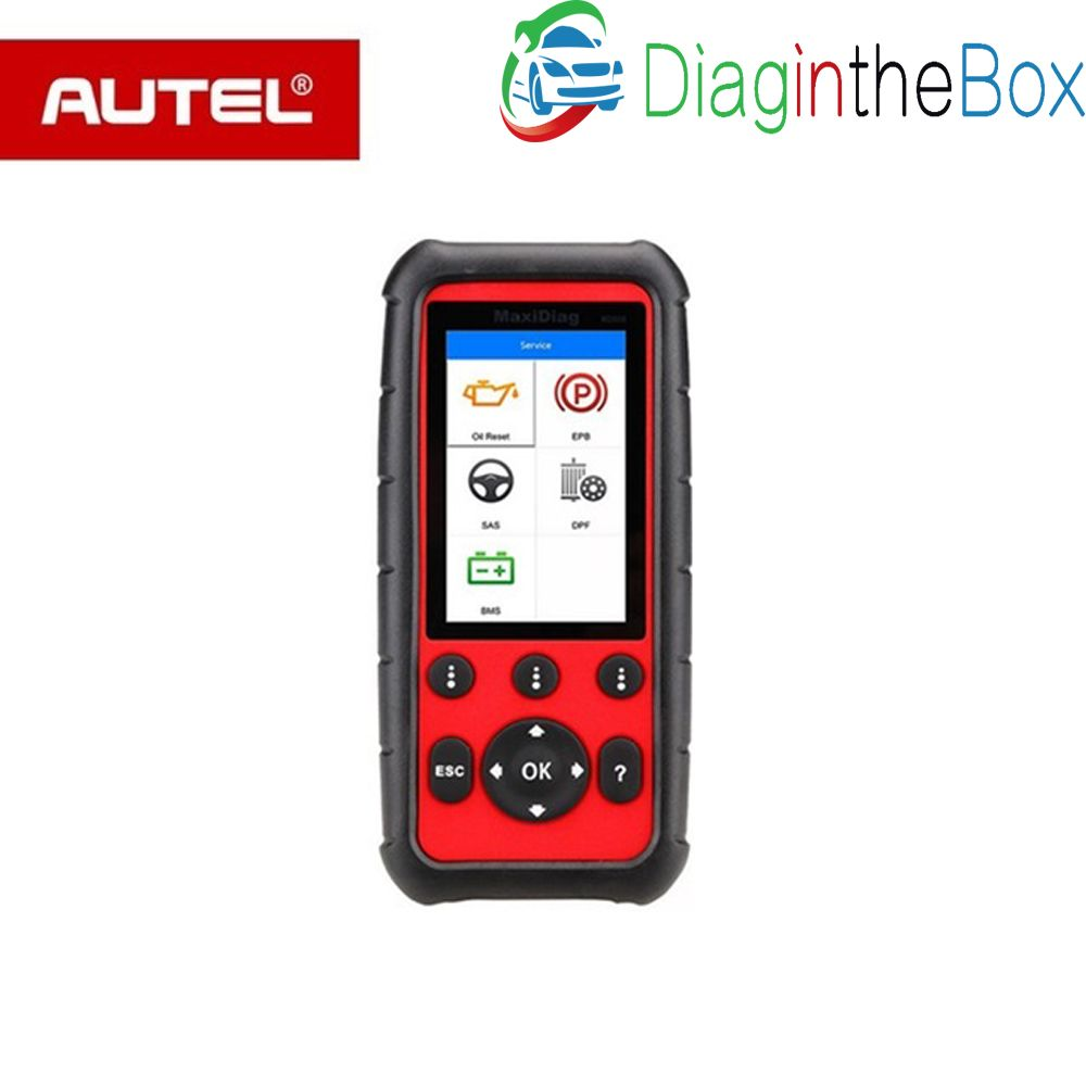 Autel MaxiDiag MD808PRO All System Diagnostic Scanner tool for Engine, Transmission, SRS and ABS systems with EPB, Oil Reset