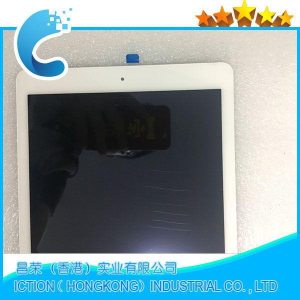 Brand New A1567 A1566 LCD Digitizer Assembly For iPad Air 2 LCD Screen Assembly Display Touch Screen White Color