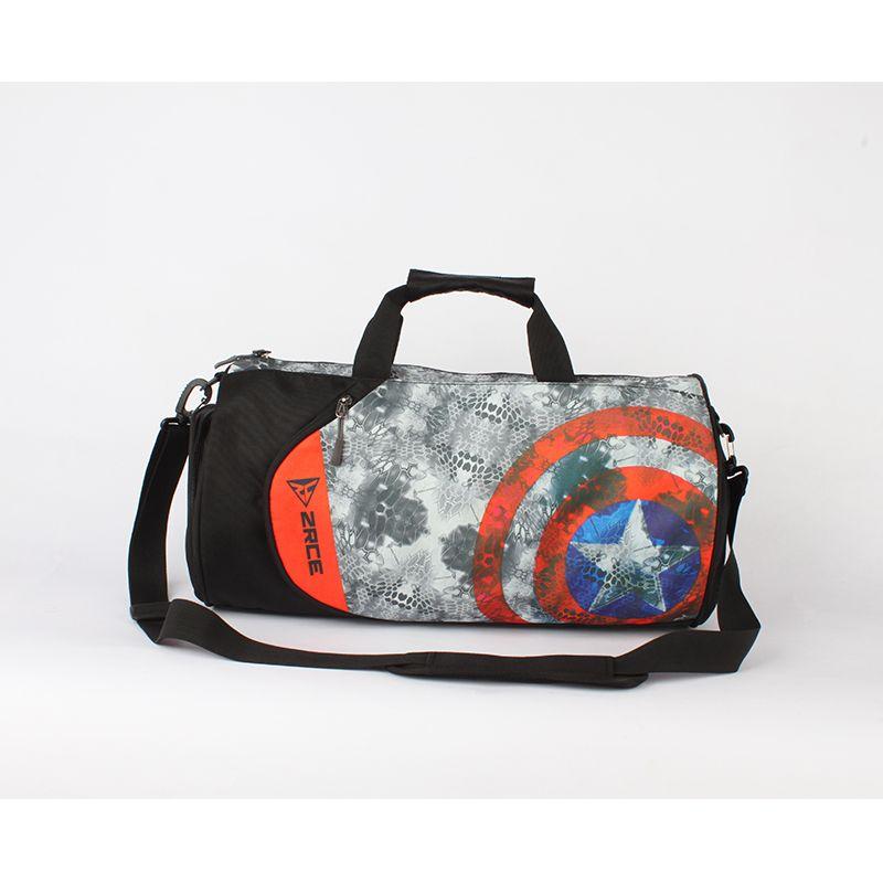 ZRCE Men For Gym Running Camping Training Waterproof Bag Basketball Football Fitness Plus Capacity men Sport Multi-portable bag