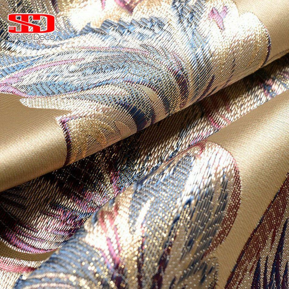 Rideaux de luxe chinois pour rideaux de salon pour chambre à coucher en soie brodée