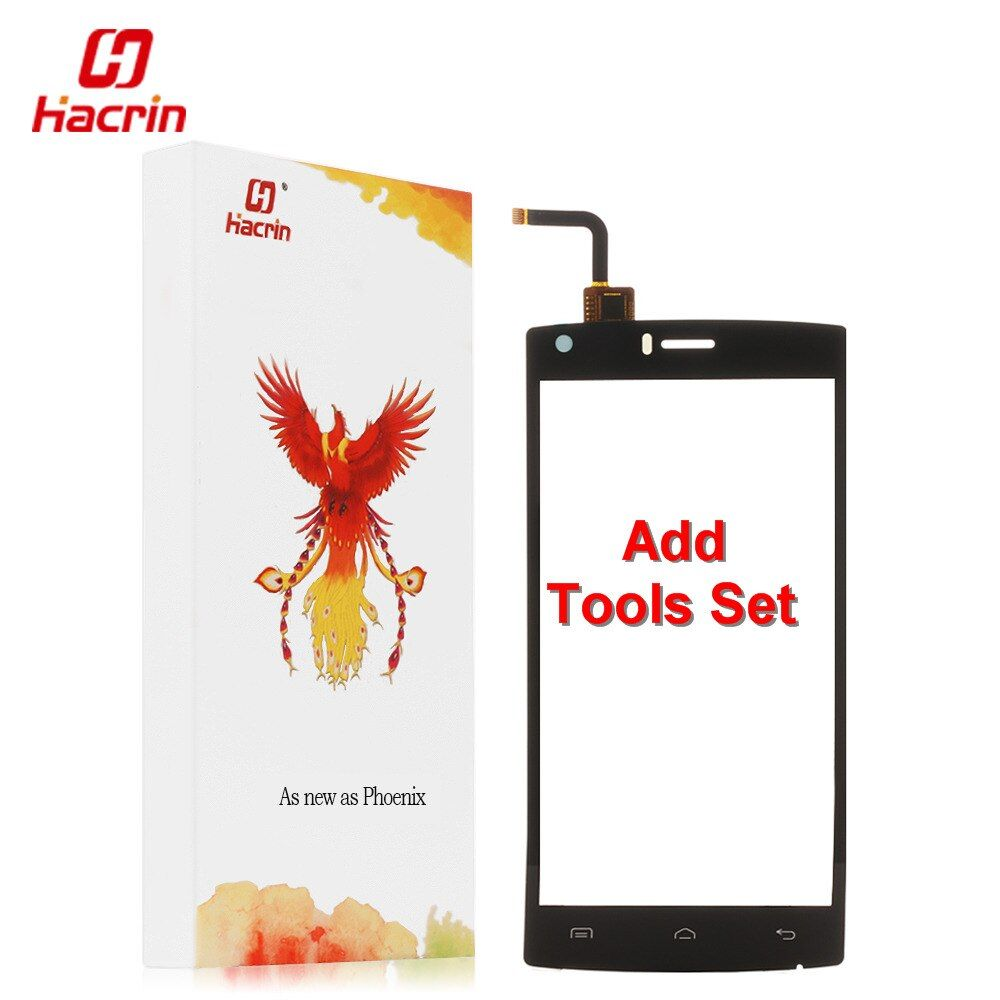 hacrin DOOGEE X5 MAX Touch screen + Tools Set Gift Digitizer Glass Panel Assembly Replacement For DOOGEE X5 MAX Pro Phone