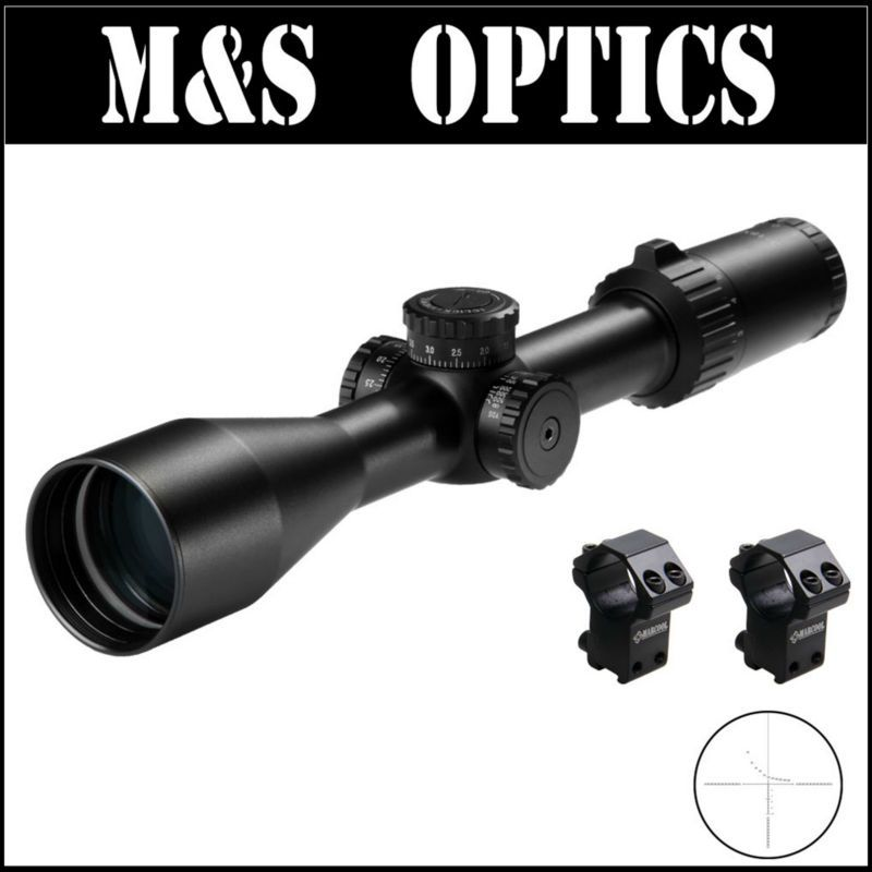 MARCOOL S.A.R. HD 3-18X50 SFL FFP Tactical Hunting Guns Rifle Scopes Free With 30mm Ring Mounts For Adults Sport As HY1401