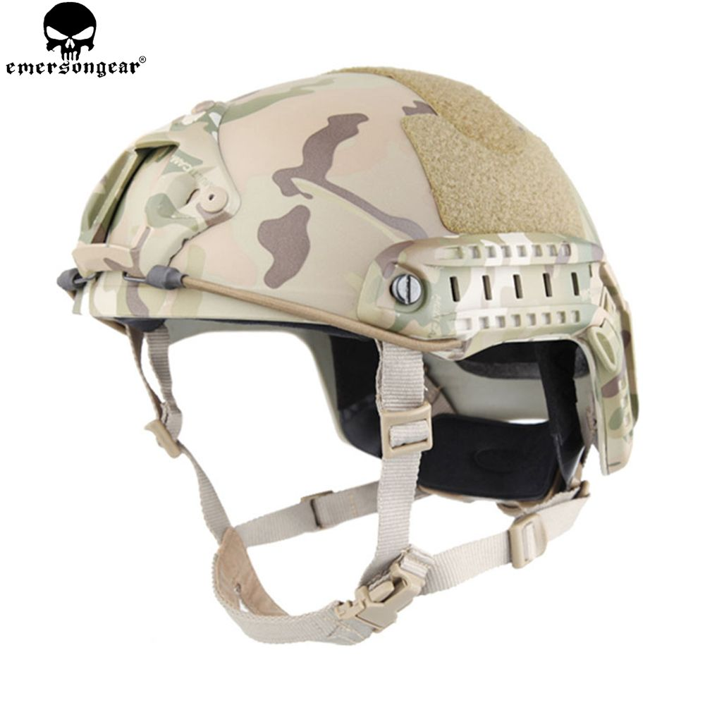 EMERSONGEAR <font><b>FAST</b></font> Helmet MH Type Tactical Helmet Airsoft Combat Sports Safety Lightweight Military Helmet EM5658