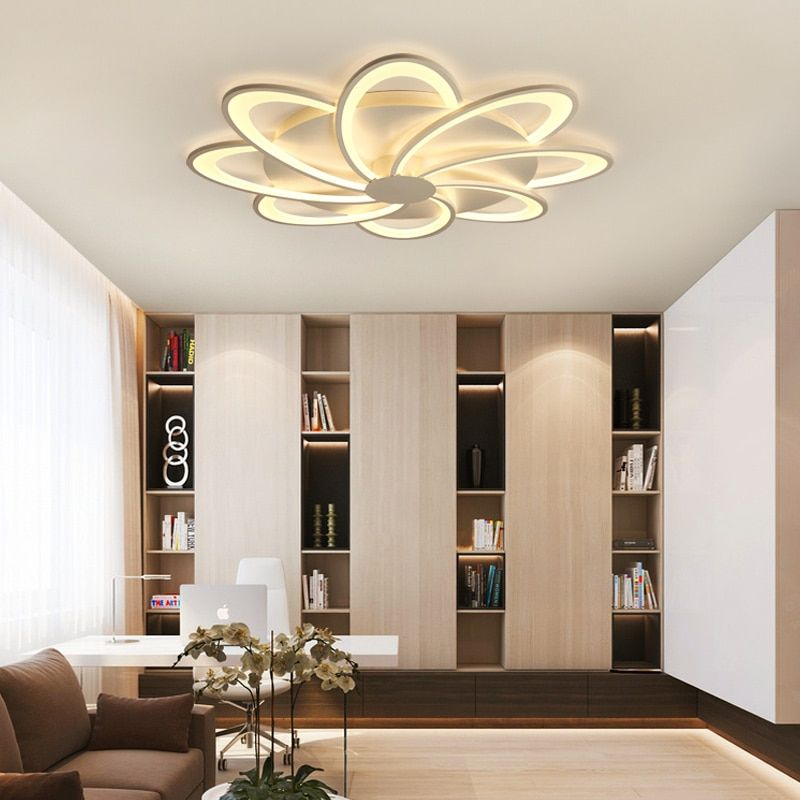2017 surface mounted modern led ceiling lights for living room bedroom decor lighting AC85~265V Acrylic lampshade ceiling lamp