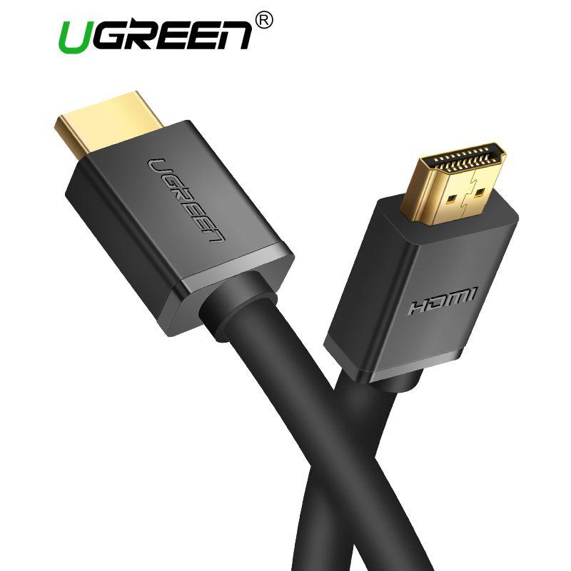 Ugreen Câble HDMI 4 K * 2 K HDMI 2.0 Mâle à Mâle Haute Vitesse HDMI adaptateur 3D pour Apple TV PS3/4 Projecteur HDMI Câble 5 M 1 M 2 M 3 M
