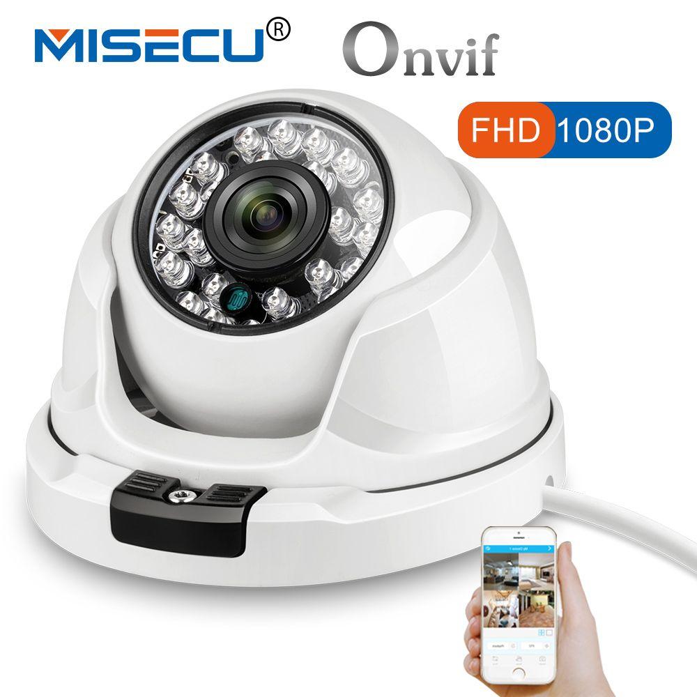 MISECU 2,8mm breiten Metall IP Kamera 1080 p 960 p 720 p Vandalproof Onvif P2P Bewegungserkennung RTSP 48 v POE Überwachung CCTV Outdoor