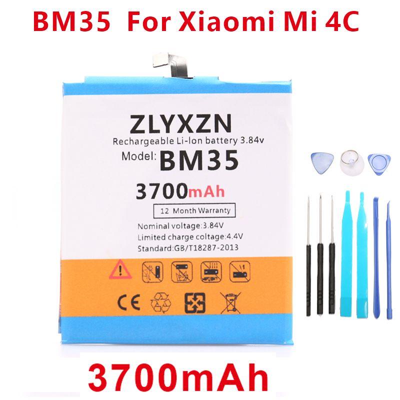 3700 mah BM35 Handy Batterie Für Xiao mi 4C mi 4C mi 4C Batterie + werkzeuge