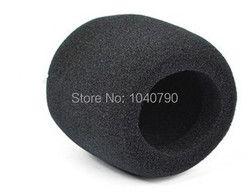 10 Pieces Black Handheld Stage Microphone Windscreen Foam Mic Cover Karaoke