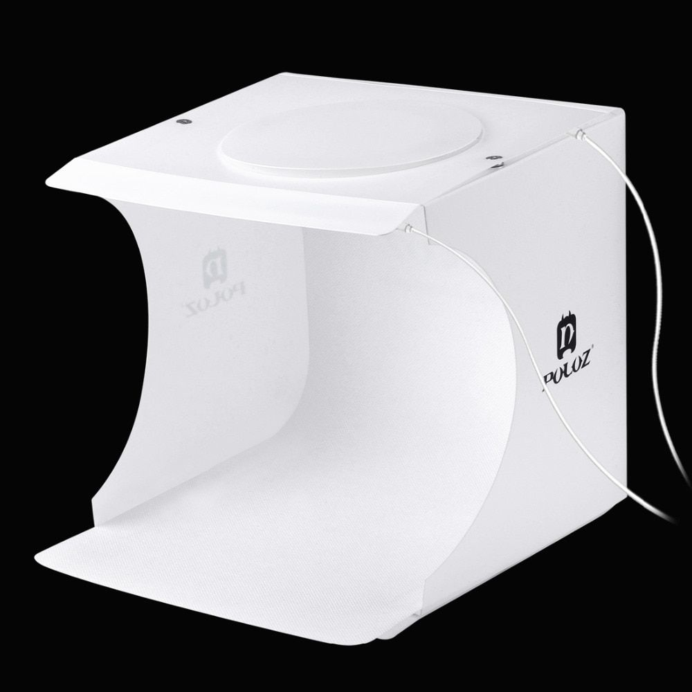 PULUZ Foldable Design Mini Small Size LED Photography Studio Box Lamp Box for SLR Cameras Digital Camera