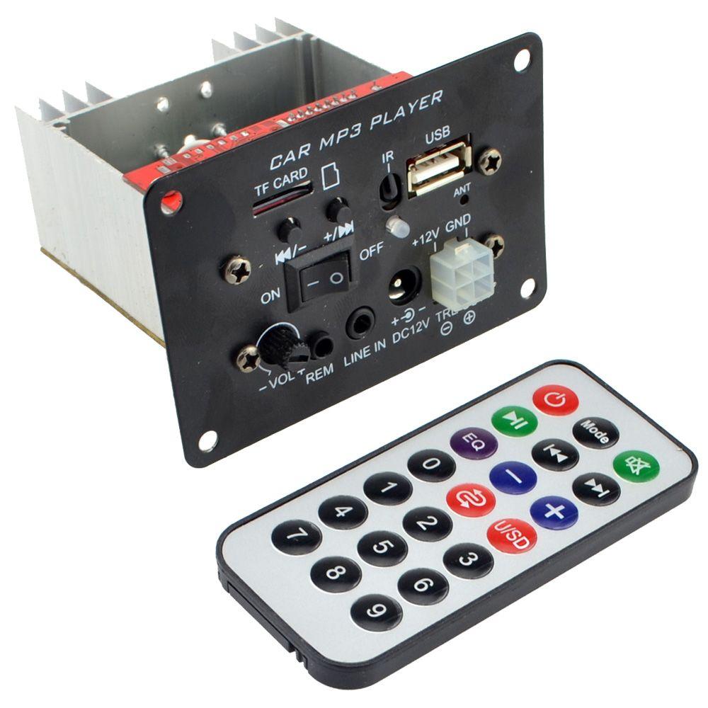 12 V haute puissance Subwoofer MP3 Bluetooth décodeur carte moto voiture amplificateur + livraison gratuite avec numéro de piste 12002023