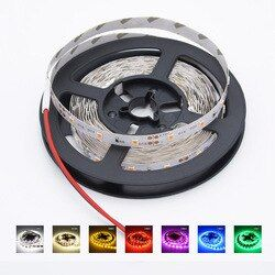 5m LED Strip light 16ft Waterproof Garland Gaskets SMD 2835 Flexible DC 12V 300LEDs Home Decoration Christmas Party Wire Tape
