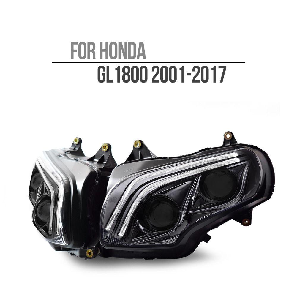 KT LED Scheinwerfer für Honda Goldwing GL1800 2001-2017 V2
