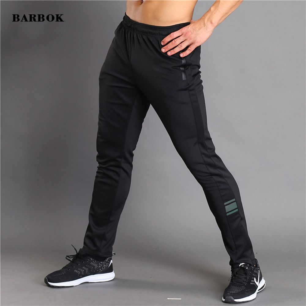 BARBOK 2017 Men Trousers Summer Breathable Long Pants Running Basketball Sweatpants Elastic Tights Fitness Workout Male Jogger