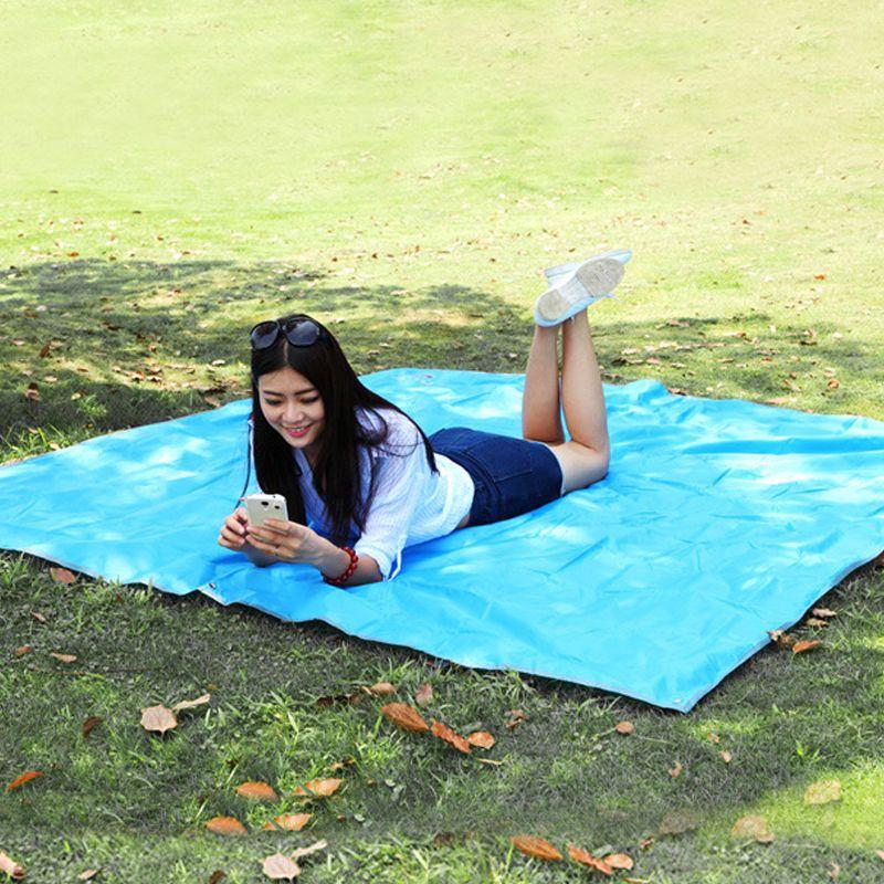 2017 neue Zelt Plane Wasserdichtes Oxford Tuch Hochwertigen 210D Oxford Material Camping Picknick Strand Dachzelt Plane