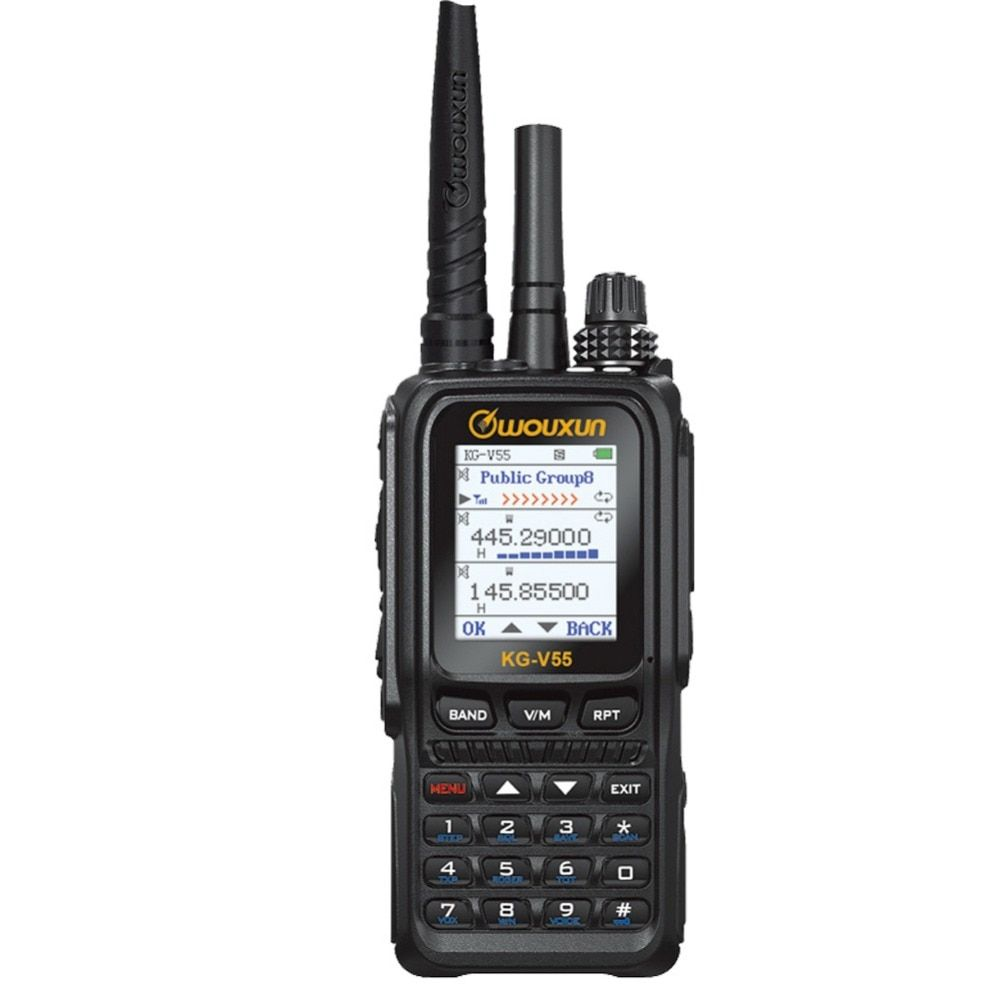 Wouxun KG-V55 Analogue and 3G WCDMA two way radio network two way radio repeater