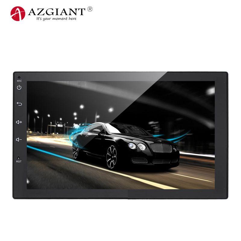 AZGIANT 7 zoll HD Bluetooth Hand kostenlos Anrufen Auto Android auto mp5 player GPS Navigation FM Radio Für Hinten ansicht Kamera Fernbedienung