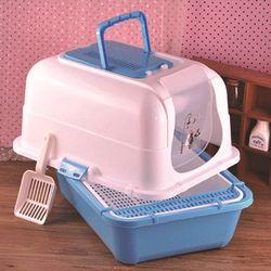 APAUALPET مزدوجة المغلقة القط صندوق نفايات المرحاض قريب الحيوانات الأليفة القطط مدفئة السرير قعادة صندوق نفايات es تدريب الحيوانات الأليفة مرحاض...