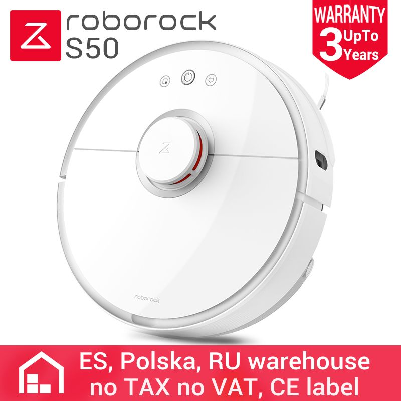 Roborock S50 Internationalen Version Xiaomi mi Roboter Staubsauger 2 Lieferung aus Polen per DHL
