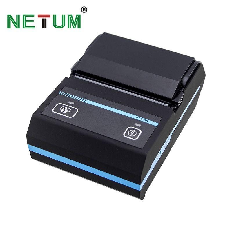Tragbare 58mm Bluetooth Thermodrucker Mobie Mini POS Erhalt ticketdrucker Unterstützung Android und IOS NT-1880