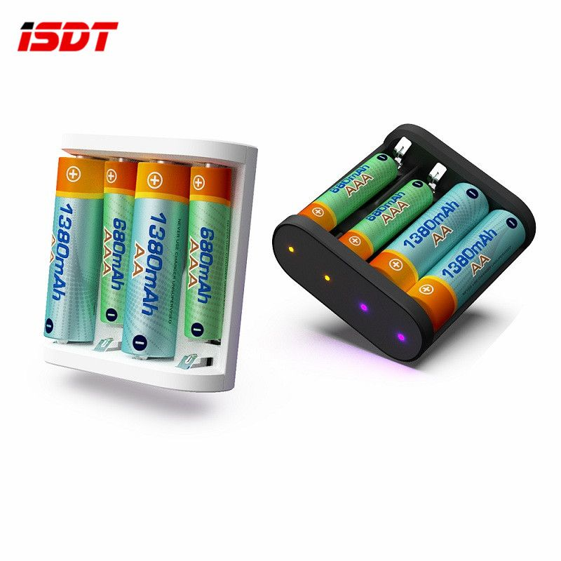 New ISDT A4 10W 1.5A AA AAA Battery Charger DC Smart Battery Charger Unit For 10500 12500 Battery