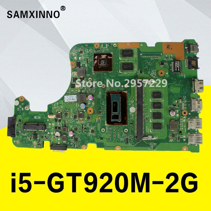 Original mainboard Für ASUS X555LD X555LP X555LJ X555LDB X555LB X555LN X555LF X555L I5 laptop motherboard getestet 100% arbeit
