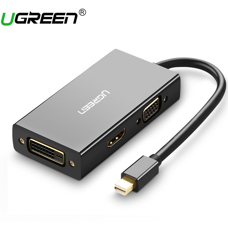 Ugreen Thunderbolt 1/2 Mini displayport DP ZUM HDMI VGA DVI Adapter Für Apple MacBook Air Pro Mini DP ZUM HDMI VGA
