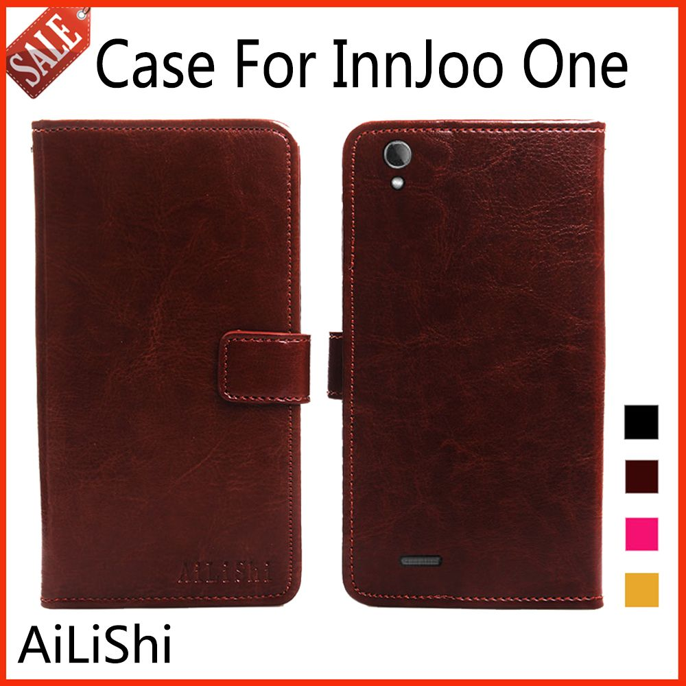 AiLiShi Flip Leather Case For InnJoo One Case High Quality Protective Cover Phone Bag Wallet 4 Colors In Stock !