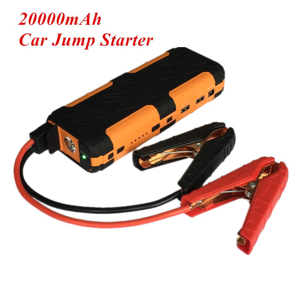 Mini 20000mAh Car Jump Starter 800A Emergency Starting Device Lighter Power Bank 12V Car Charger For Car Battery Booster Buster