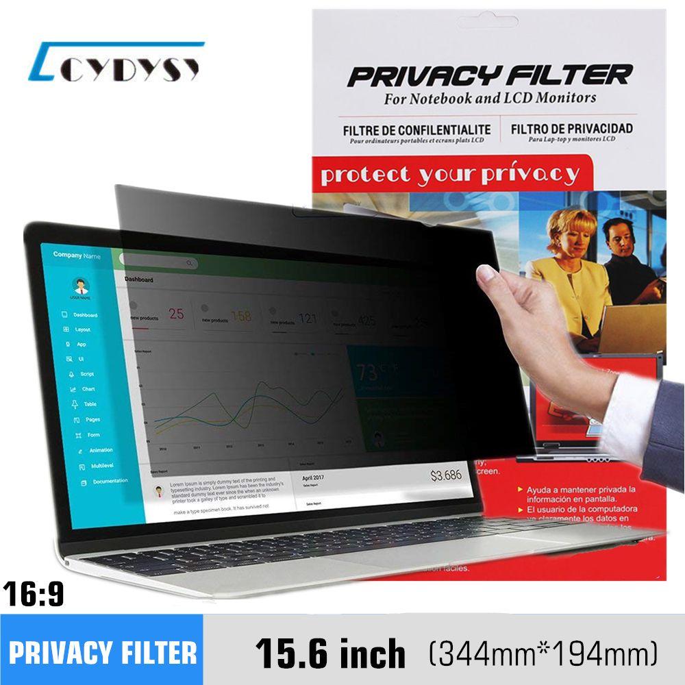 15.6 pouce Filtre de Confidentialité Écrans De Protection film pour 16:9 Ordinateur Portable 13 7/16