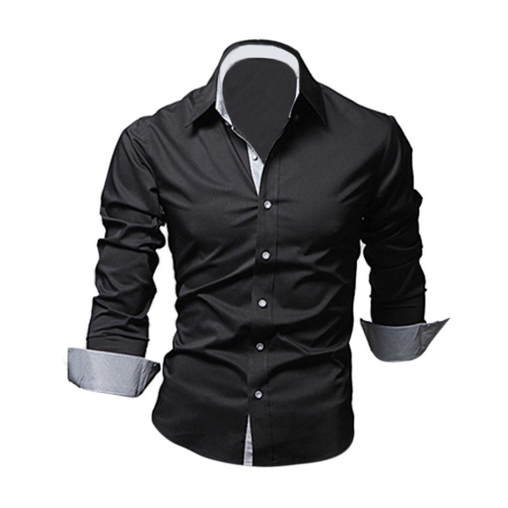 Новинка; Лидер продаж Стиль Дизайн мужские Рубашки для мальчиков высокого качества Повседневное Slim Fit Стильный Сорочки выходные для мужчин ...