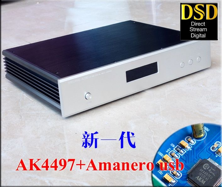 New AK4497 Digital audio decoder DAC + Amanero USB supports DSD upgrade from AK4495SEQ