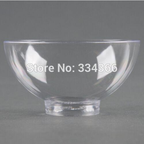 200pcs/lot Hard Plastic Disposable Dessert Bowl 2oz Plastic Cake Dish /Mini Small Bowl For Party Festival Wedding