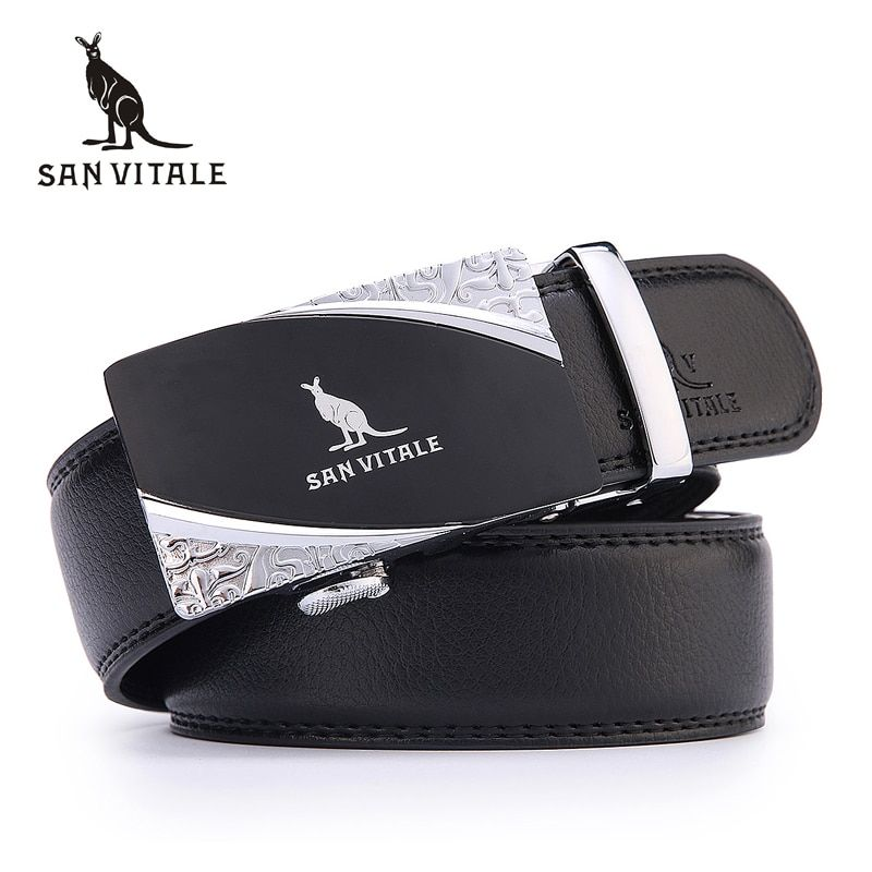 Belt 2016 new arrival men automatic buckle brand new fashion leather belts for business men high quality luxury for man