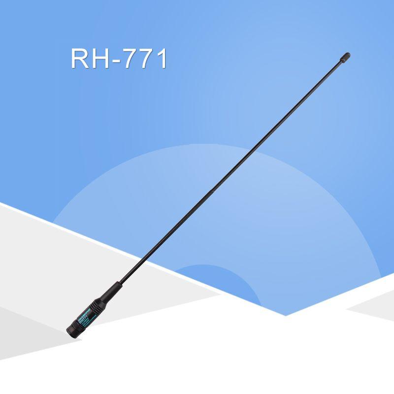 General Diamond RH-771 Dual Band Walkie Talkie Baofeng Antenna VHF/UHF SMA-Female for Handheld Radio Baofeng UV-5R UV-82 BF-888S