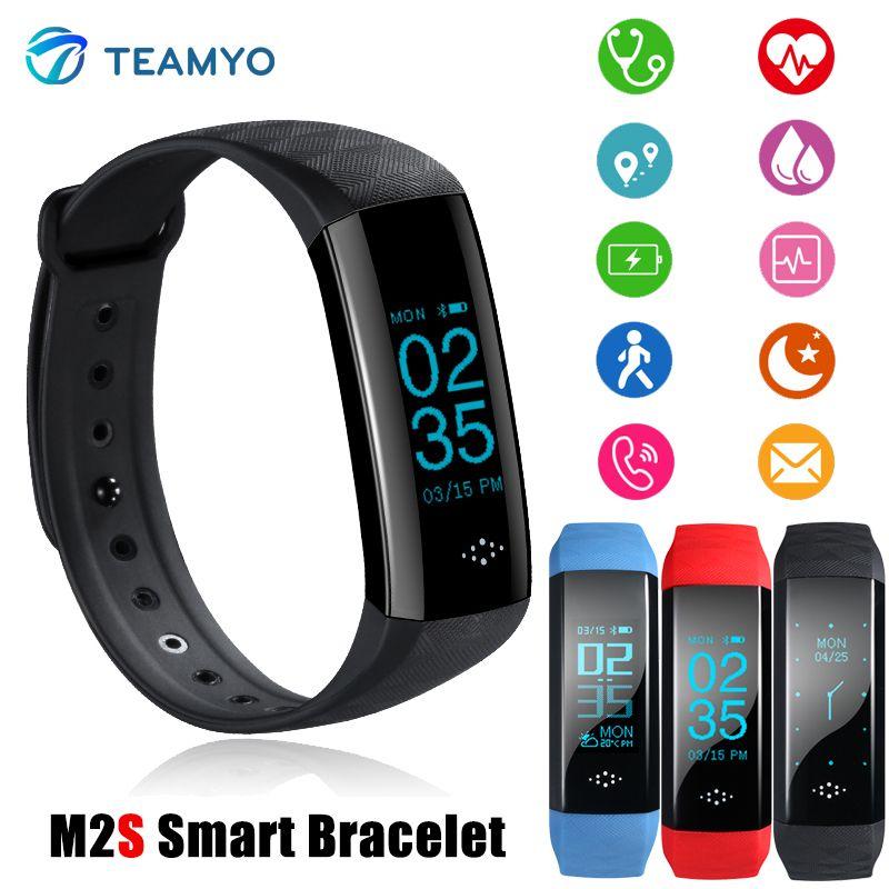 Teamyo horloge bracelet À Puce montre de la pression artérielle Fitness Activité tracker GPS étanche moniteur de fréquence Cardiaque montres Intelligentes bande