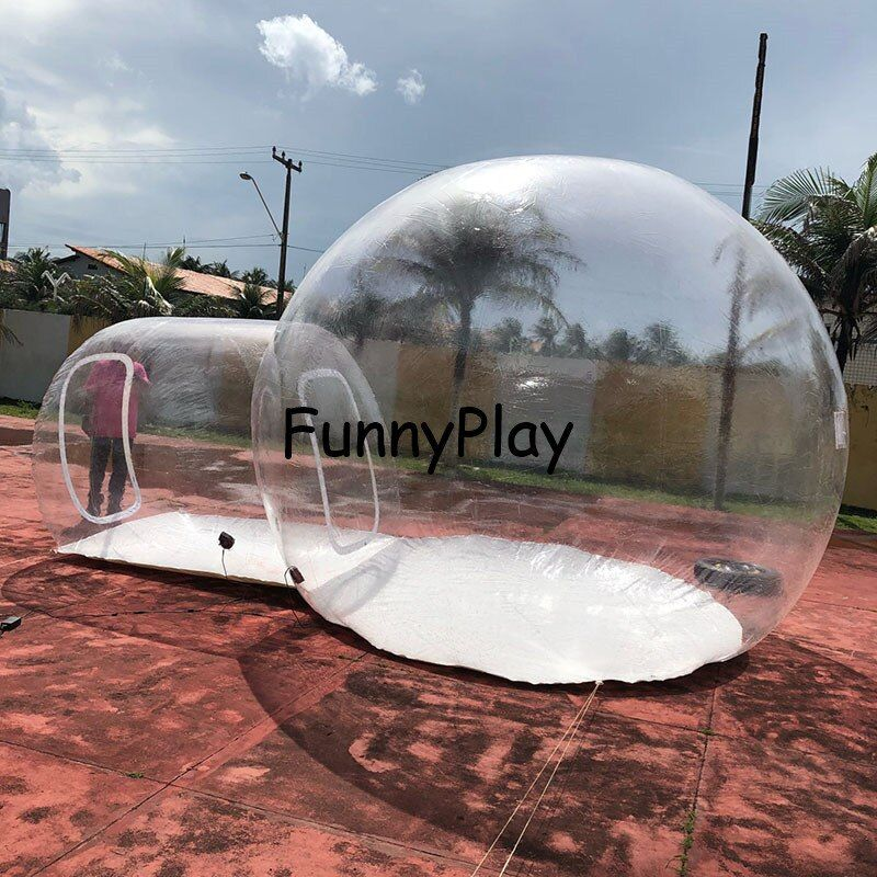 Clear Inflatable Bubble Tents for Camping,transparent bubble tents for sale,inflatable lawn bubble hotel room,show booth