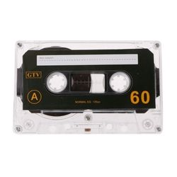 ANENG Standard Cassette Blank Tape Empty 60 Minutes Audio Recording For Speech Music Player